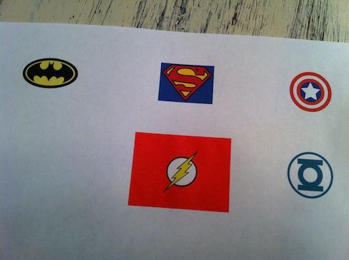 Images de super héros