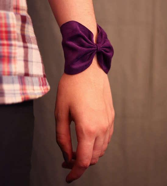 bracelet-nœud en cuir