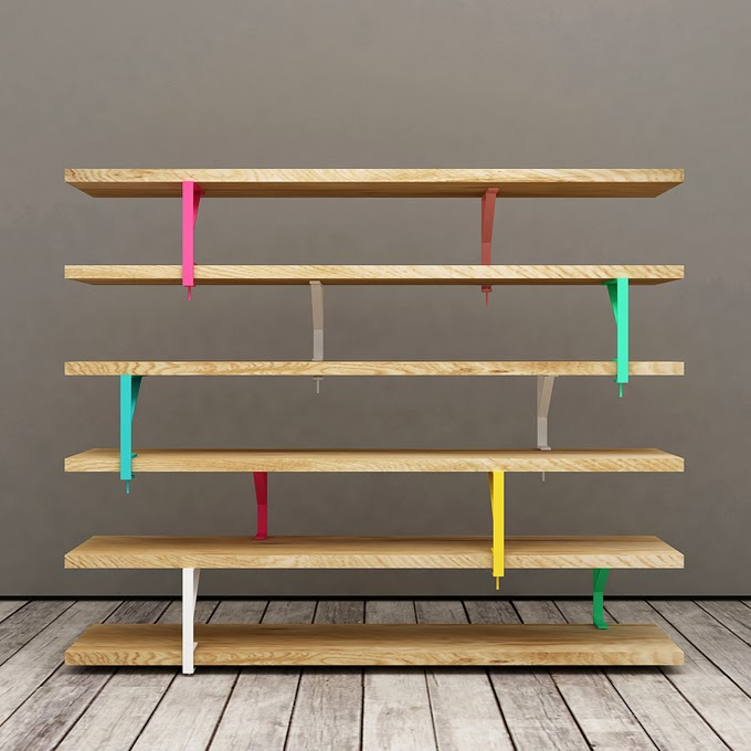 Diy une tag re simple et design - Systeme de fixation etagere murale ...
