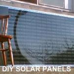 Panneau solaire diy