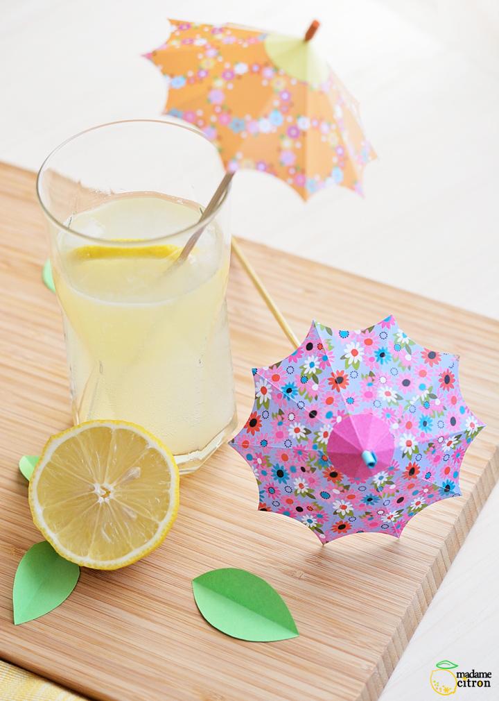 ombrelles à cocktail DIY