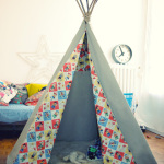 un tipi en do it yourself