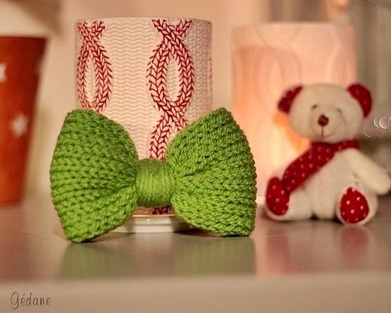Fabriquer un nœud au tricotin