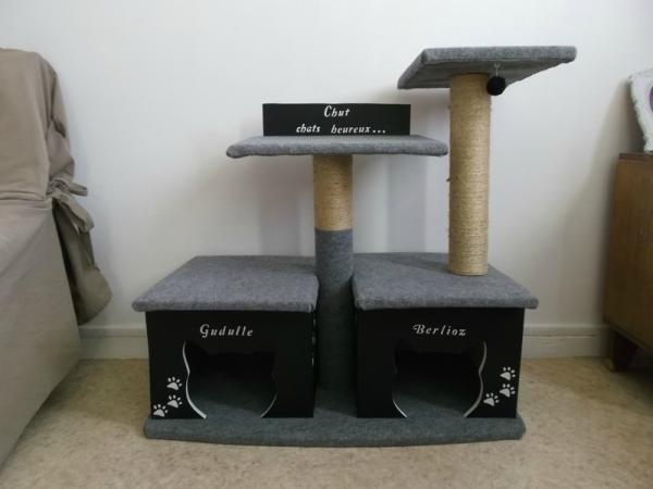 Moi je fais diy un arbre chat - Construire un arbre a chat ...