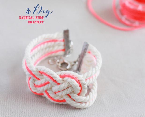 DIY bracelet marin