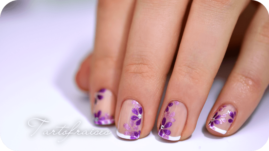 nail art ongles courts