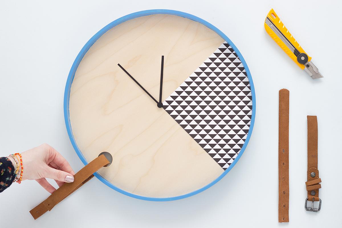 DIY d'une horloge