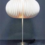 DIY d'une lampe design à base d'assiette en carton