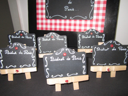 fabriquer des marques places avec des pinces à linge