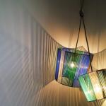 DIY lampe années 50