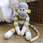 Un doudou à partir d'une chaussette