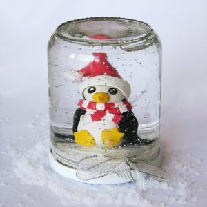 faire une boule à neige