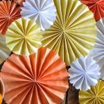 Chemin de table en origami