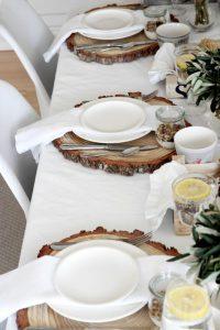 decoration de table nature