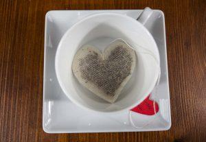 faire sachet thé coeur