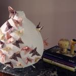 Une lampe en origami.