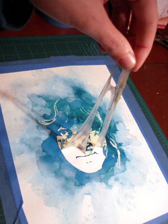 peinture eau 10