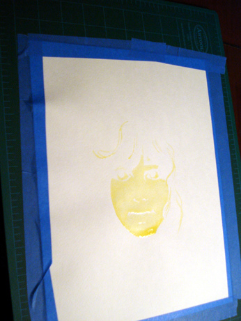 peinture eau 5