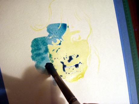 peinture eau 6
