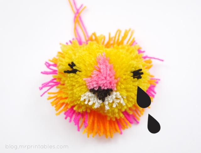 pompon lion 5