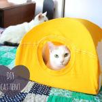 Une tente pour chat.