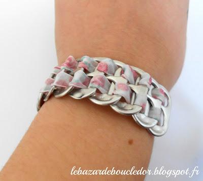 bracelet canette