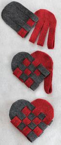 coeur en feutrine 2