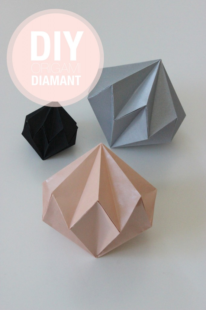 diy diamants en origami. Black Bedroom Furniture Sets. Home Design Ideas