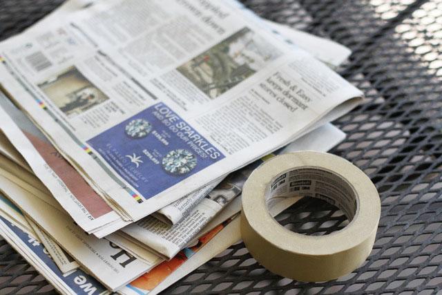 licorne papier maché 1
