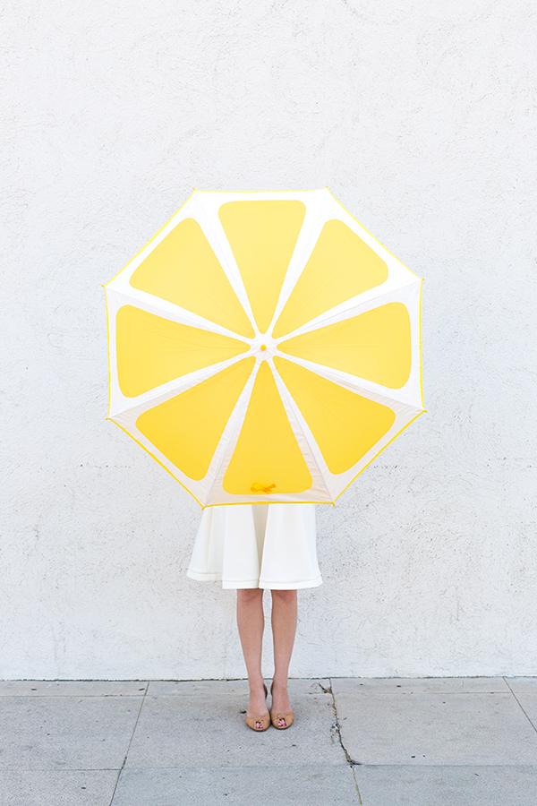 parapluie citron