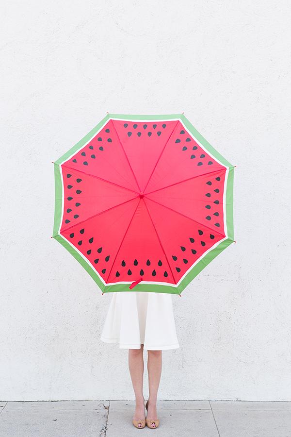 parapluie pastèque