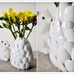 vase cuillère en plastique