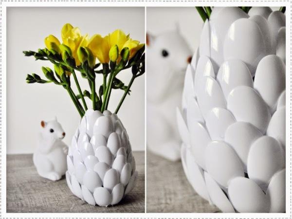 moi je fais diy un vase pour vos fleurs. Black Bedroom Furniture Sets. Home Design Ideas