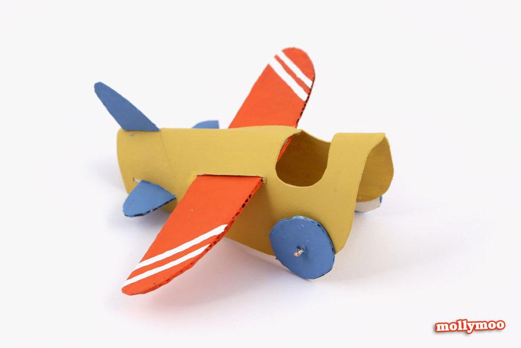 avion rouleau papier toilette enfant