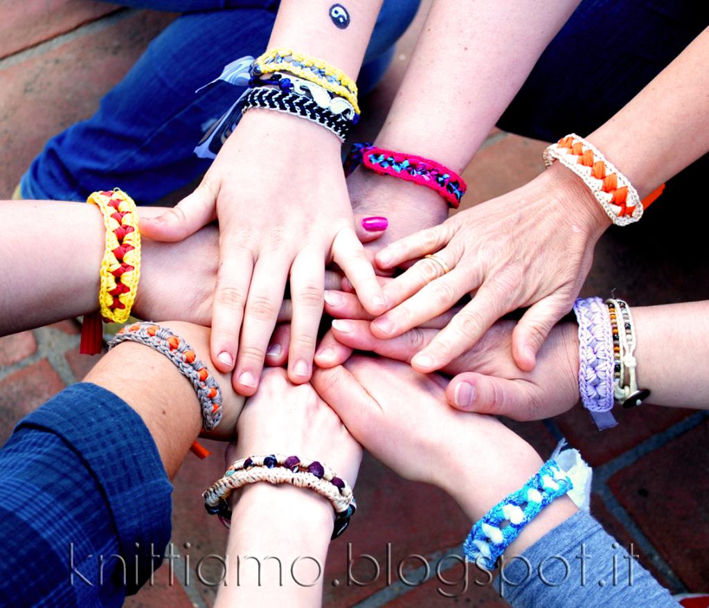 exemple bracelet tissu