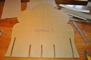 fabriquer fauteuil carton 7
