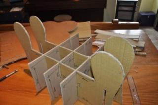 modele fauteuil carton 8
