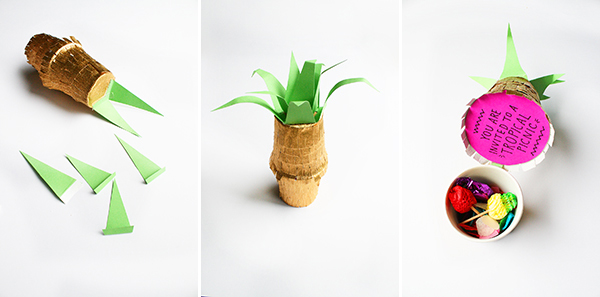 invitation ananas 7