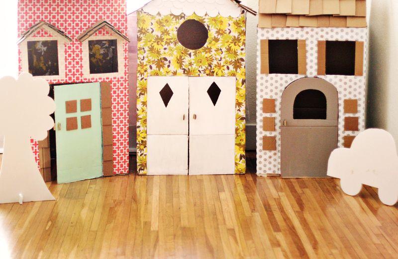 faire une maison en carton