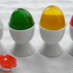 oeufs colorés
