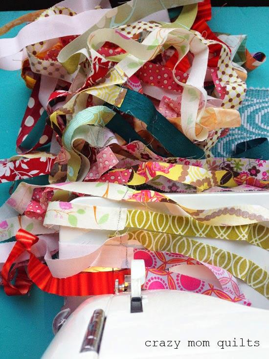 recycler vieux tissu faire tapis