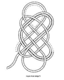 tapis avec corde faire
