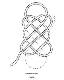 faire un tapis corde