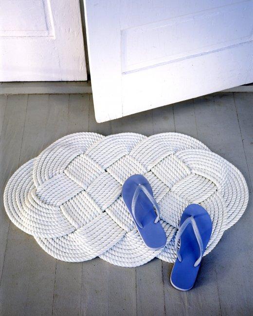 tapis tressé