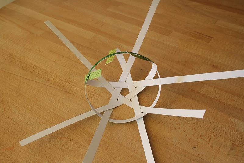 Diy boules de d coration en papier faire soi m me - Faire des boules de noel en papier ...