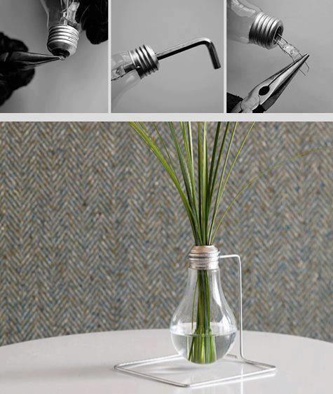 diy Évider une ampoule pour de jolies décorations d'intérieur