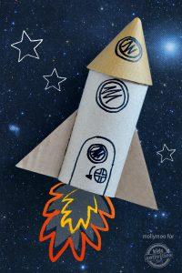 fusée rouleau papier toilette