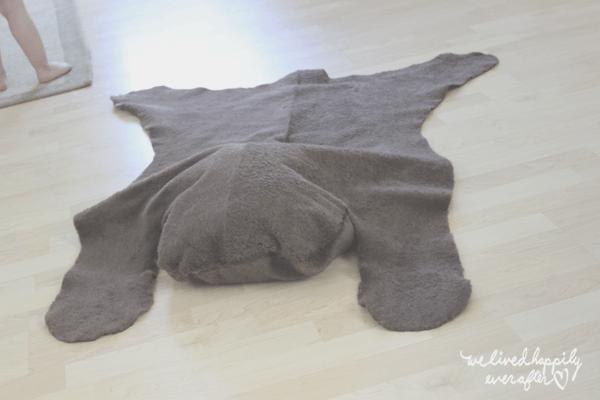 faire tapis animal