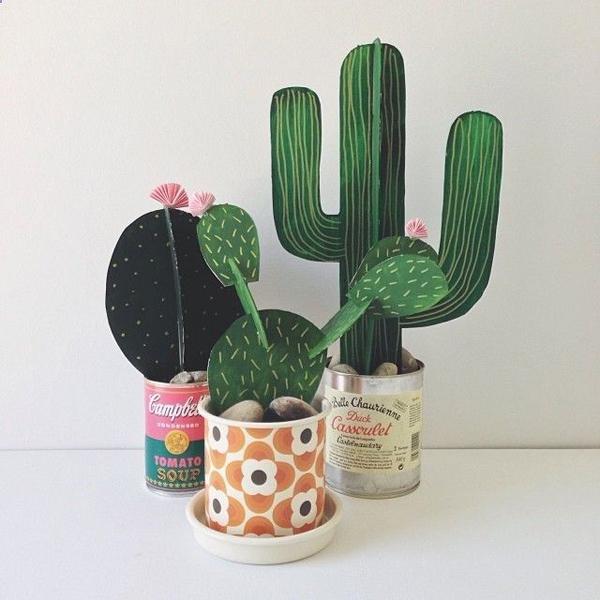 cactus papier 1