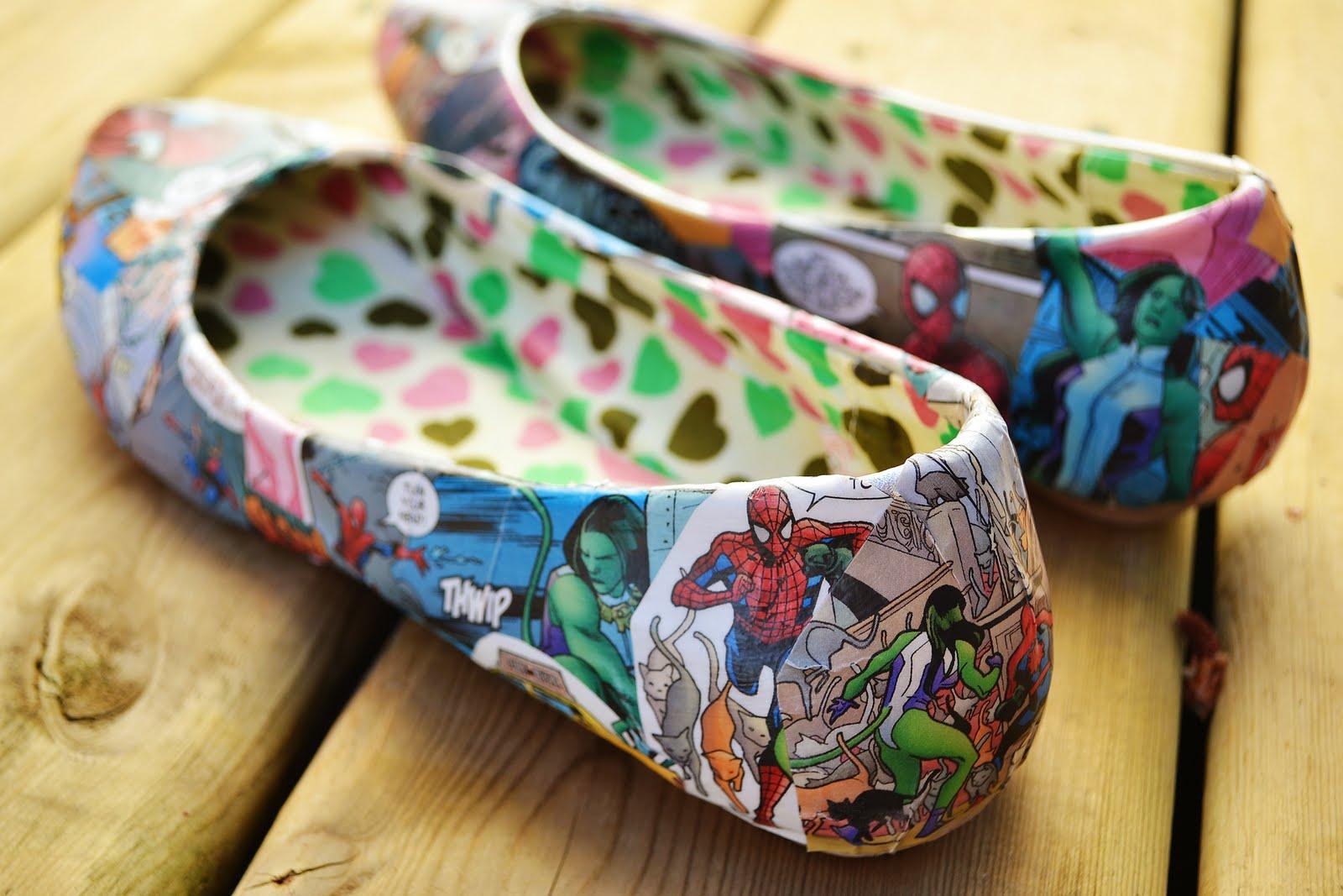 chaussure comics